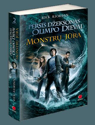 Persis Džeksonas ir Olimpo dievai. Monstrų jūra. 2-oji knyga