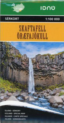 Skaftafell National Park  1 : 25 000 - 1 : 100 000