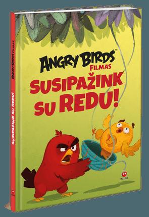 Angry Birds. Susipažink su Redu