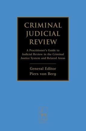 Criminal Judicial Review