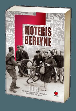 Moteris Berlyne (minkštais viršeliais)
