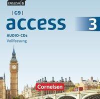 English G Access - G9 - Band 3: 7. Schuljahr - Audio-CDs