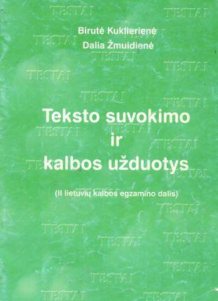 Teksto suvokimo ir kalbos užduotys (2002)