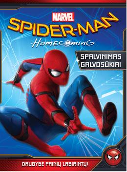 Spiderman. Spalvinimas ir galvosūkiai