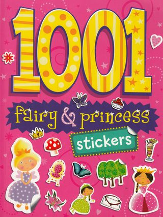 1001 Fairy & Princes Stickers