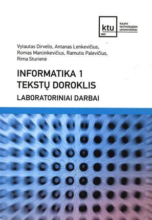 Informatika 1. Tekstų doroklis. Laboratoriniai darbai (2015)