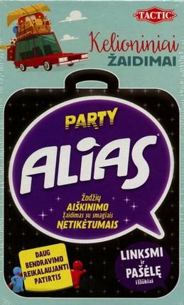 """Kelioninis stalo žaidimas """"Alias Party"""""""