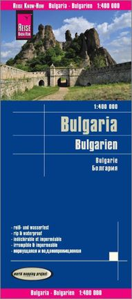 Reise Know-How Landkarte Bulgarien 1 : 400.000