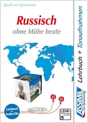 ASSiMiL Russisch ohne Mühe heute. Lehrbuch (Niveau A1 - B2) + 4 Audio-CDs