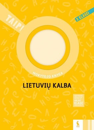 Lietuvių kalba: mokytojo knyga 3 klasei
