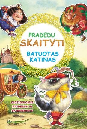 Pradedu skaityti. Batuotas katinas (didelės raidės)