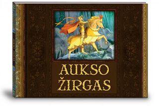 Aukso žirgas (knyga su defektais)