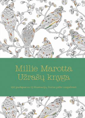 Millie Marotta Užrašų knyga. 192 puslapiai su 15 iliustracijų