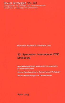 33<SUP>e</SUP> Symposium International FESF Strasbourg