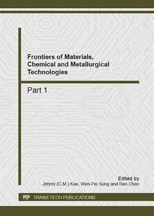 Frontiers of Materials, Chemical and Metallurgical Technologies