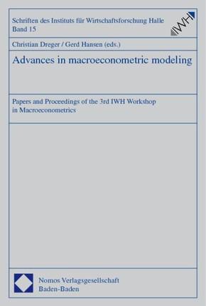 Advances in macroeconometric modeling