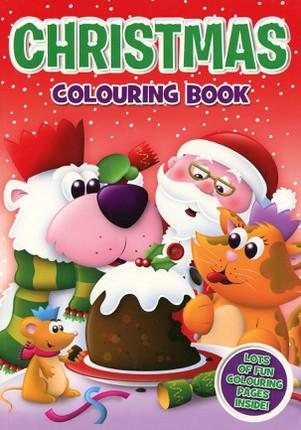 Christmas colouring book 2