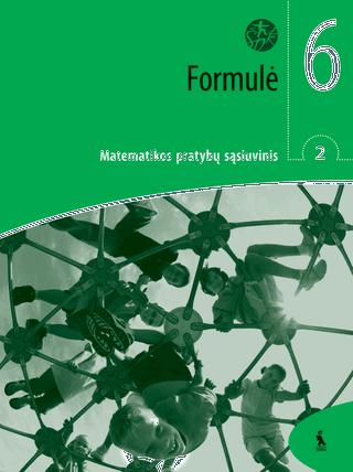 """Formulė. 2-asis matematikos pratybų sąsiuvinis VI klasei (serija """"Šok"""")"""