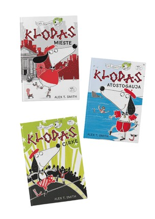 3 knygų rinkinys KLODAS