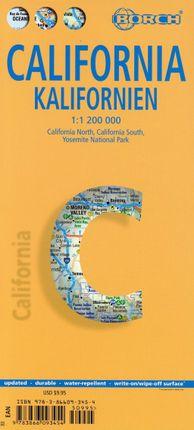 California ( Kalifornien) 1 : 1 200 000