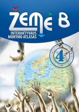 Žemė 8. Geografijos interaktyvaus mokymo atlasas 8 klasei