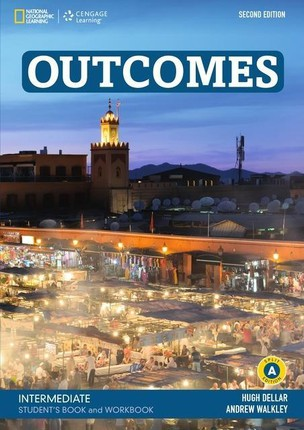 Outcomes B1.2/B2.1: Intermediate - Student's Book and Workbook (Combo Split Edition A) + Audio-CD + DVD-ROM