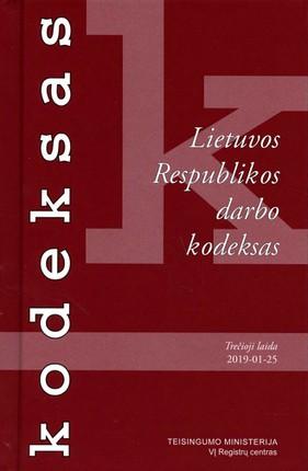 Lietuvos Respublikos darbo kodeksas (2019 m. sausio 25 d.)