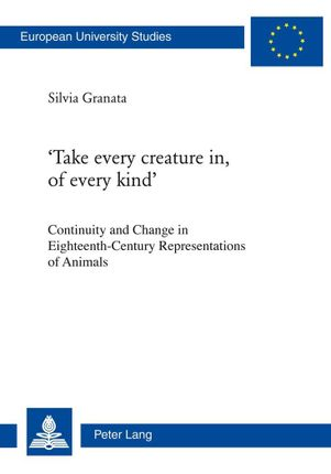 'Take every creature in, of every kind'