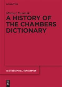 A History of the Chambers Dictionary
