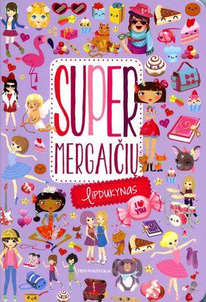 Super mergaičių lipdukynas