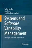 Systems and Software Variability Management