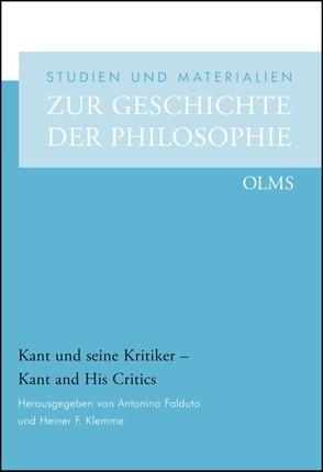 Kant und seine Kritiker - Kant and His Critics