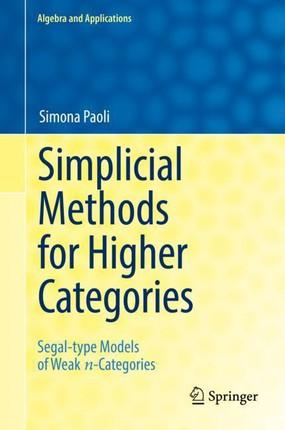 Simplicial Methods for Higher Categories