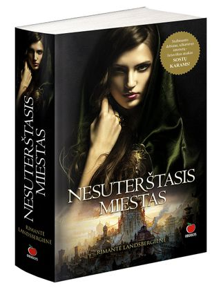 NESUTERŠTASIS MIESTAS: epinė knyga, nukelianti į mistišką meilės, pavojų ir nuotykių pasaulį