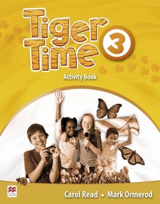 Tiger Time 3. Activity Book mit Stickerbogen