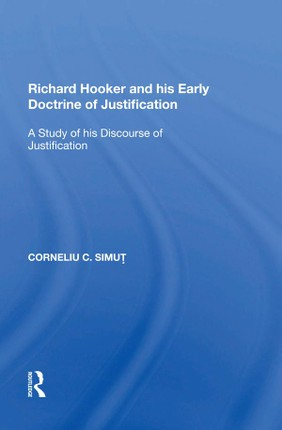 Richard Hooker and his Early Doctrine of Justification