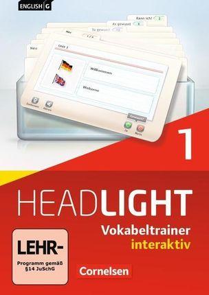 English G Headlight 01: 5. Schuljahr. Vokabeltrainer interaktiv
