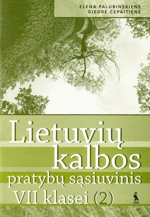 2-asis lietuvių kalbos pratybų sąsiuvinis VII klasei