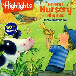 Favorite Nursery Rhymes. Story Puzzle fun