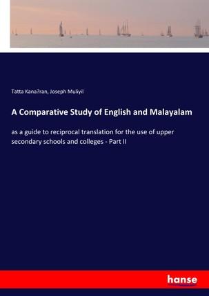 A Comparative Study of English and Malayalam