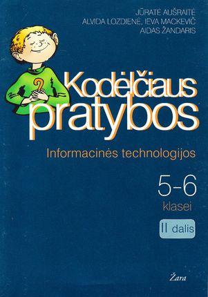 Kodėlčiaus pratybos. Informacinės technologijos 5-6 kl. II dalis