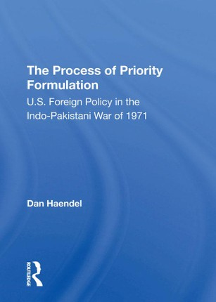 The Process Of Priority Formulation