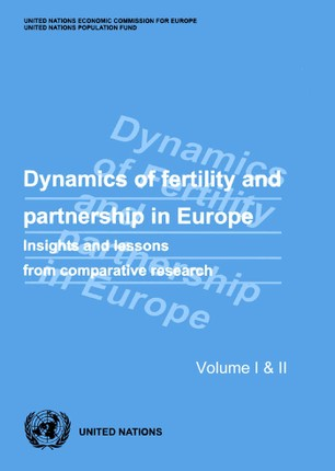 Dynamics of Fertility and Partnership in Europe