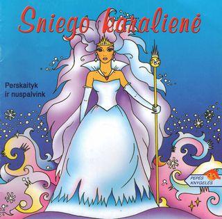 Sniego karalienė. Perskaityk ir nuspalvink