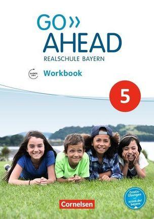 Go Ahead 5. Jahrgangsstufe - Ausgabe für Realschulen in Bayern - Workbook mit Audios online