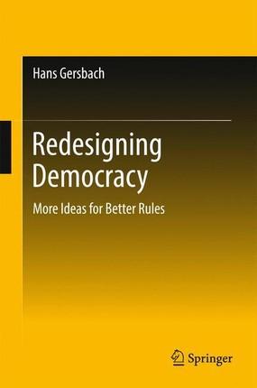 Redesigning Democracy