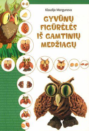 Gyvūnų figurėlės iš gamtinių medžiagų