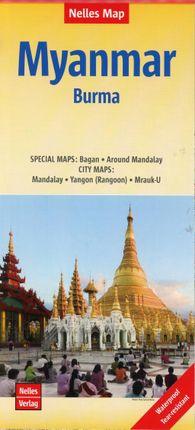 Nelles Map Myanmar 1 : 1 500 000