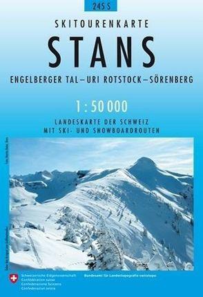 Swisstopo 1 : 50 000 Stans Ski