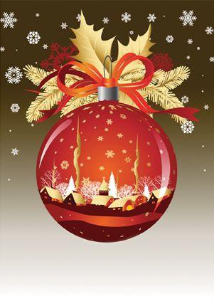 Kalėdinis sveikinimo atvirukas (žaisliukas)